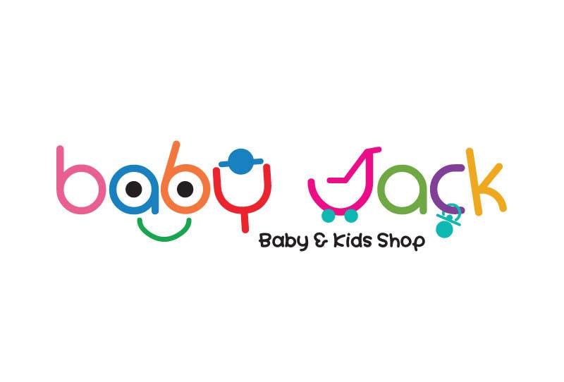 #59 for Design a Logo for BabyJack by suneshthakkar