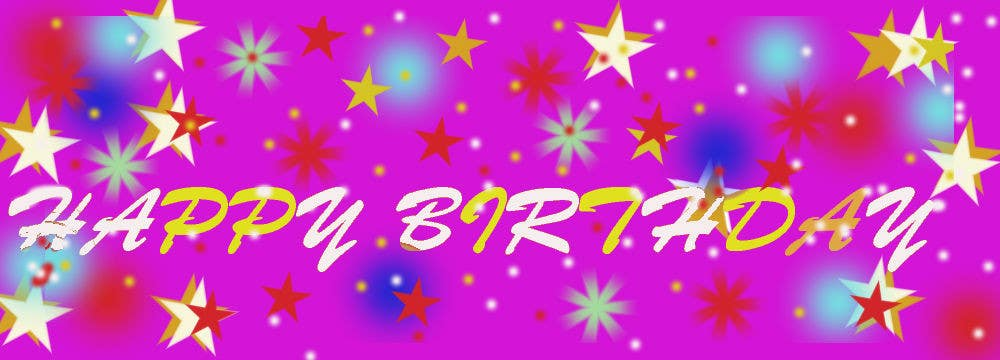 #21 for i need 5 designs for birthday banners by meen7