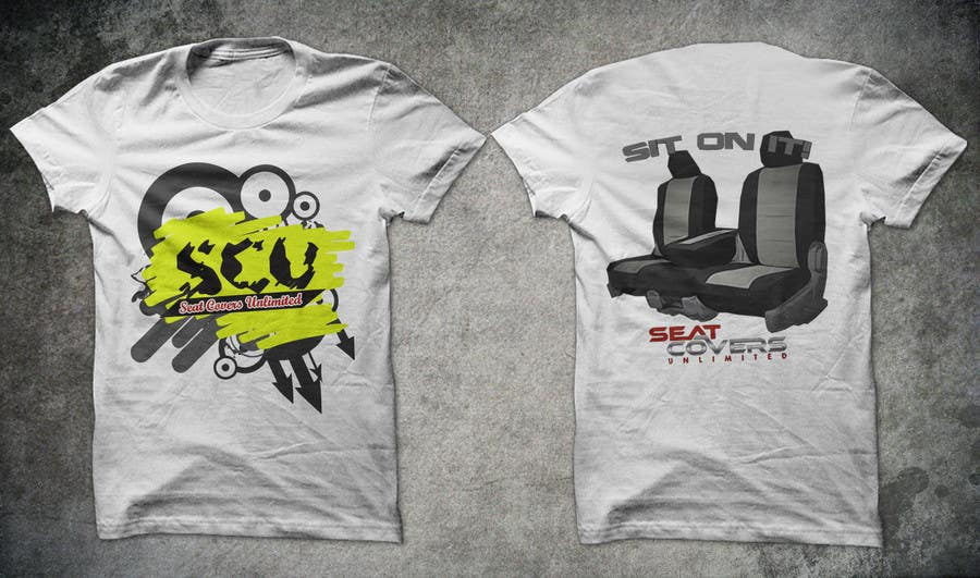 #4 for Logo Design for Seat Covers Unlimited T-Shirts by armanlim