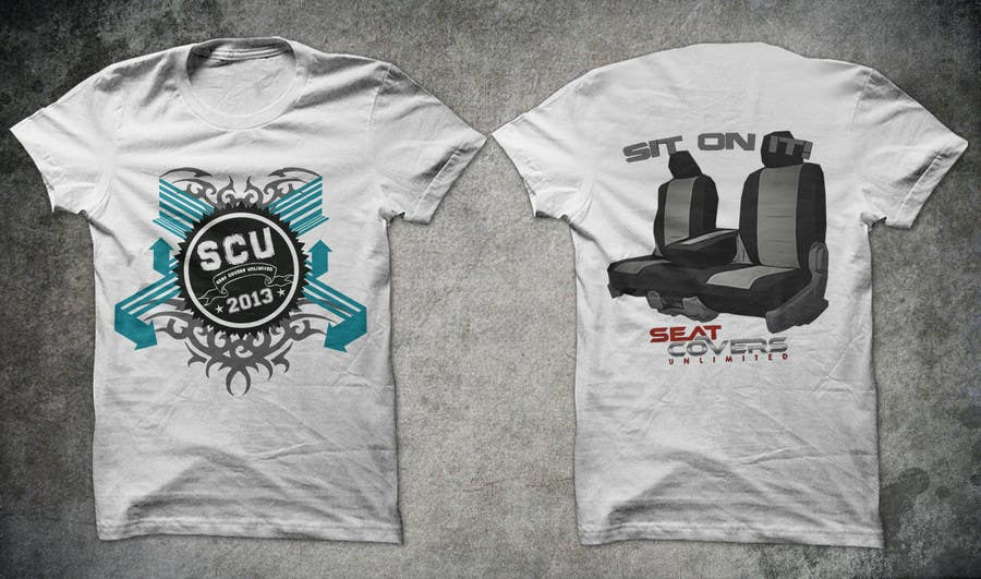 #28 for Logo Design for Seat Covers Unlimited T-Shirts by armanlim