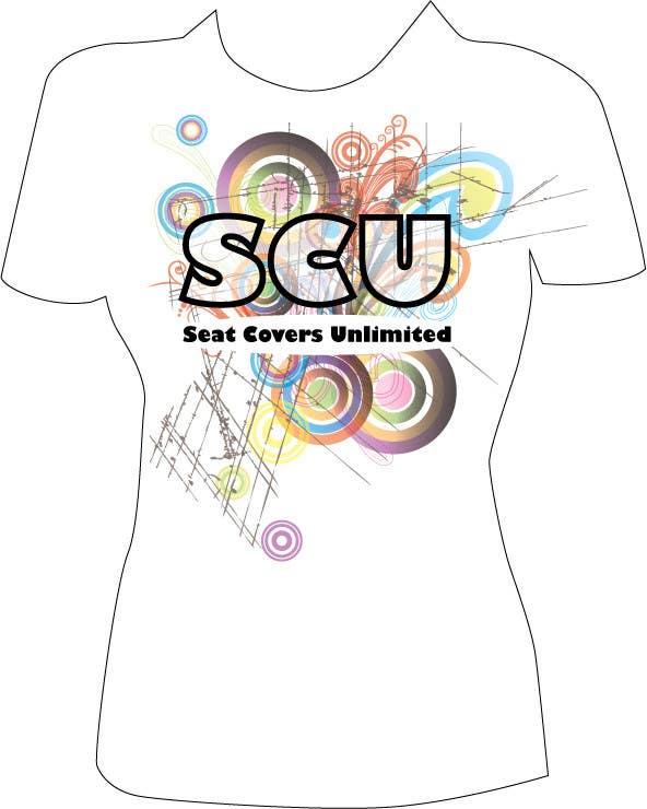 Bài tham dự cuộc thi #                                        66                                      cho                                         Logo Design for Seat Covers Unlimited T-Shirts