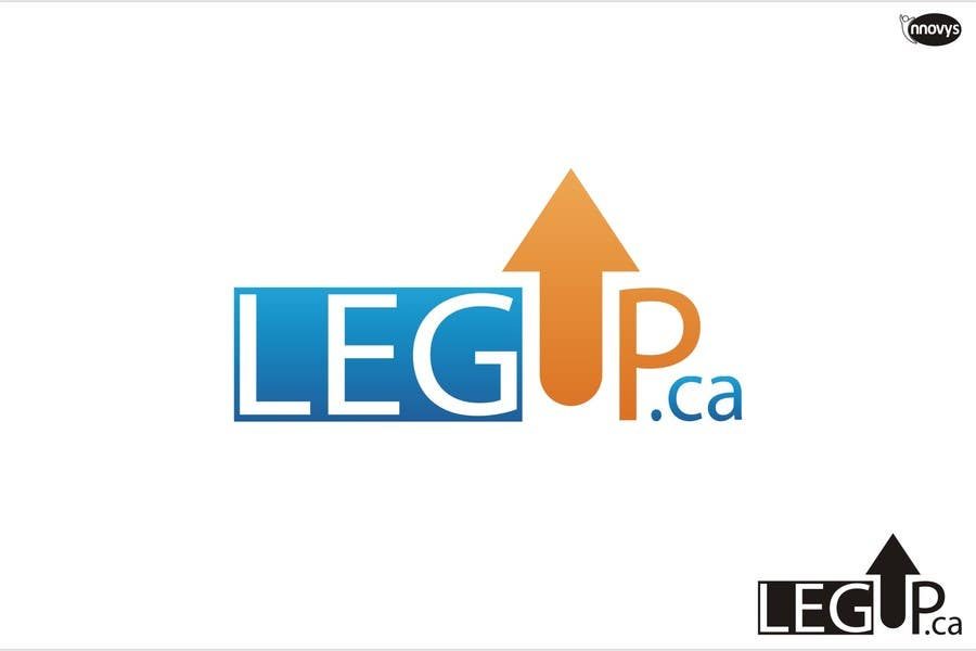 "#196 for Design a Logo for Crowdfunding Site ""LegUp.ca"" by innovys"