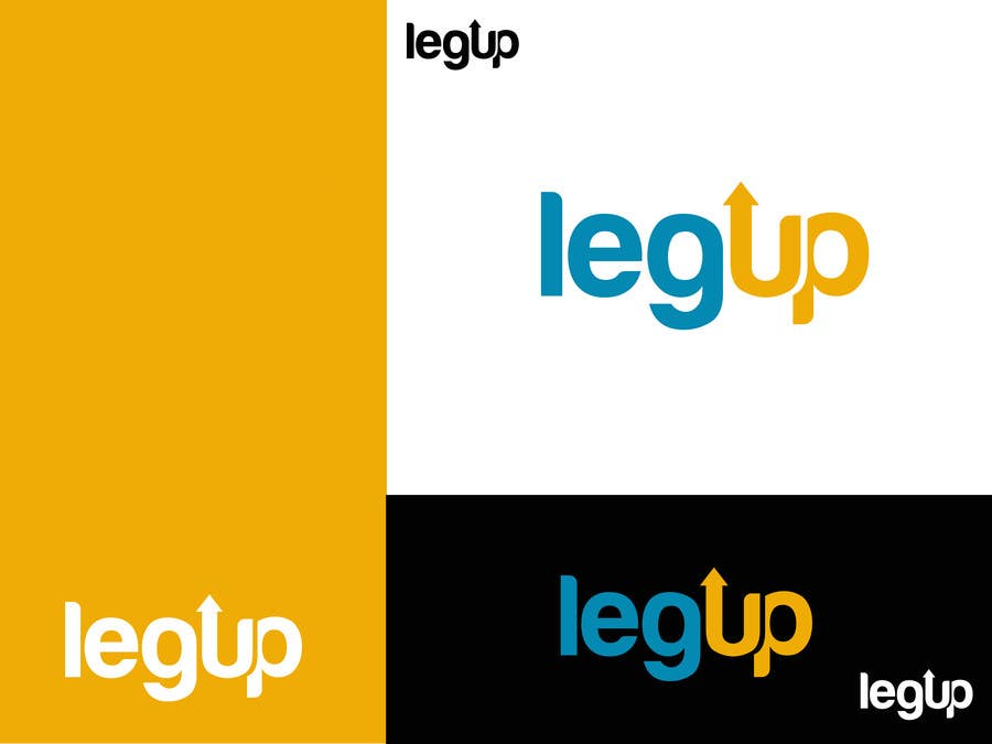 "#35 for Design a Logo for Crowdfunding Site ""LegUp.ca"" by alexandracol"