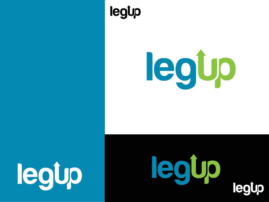 "#36 for Design a Logo for Crowdfunding Site ""LegUp.ca"" by alexandracol"