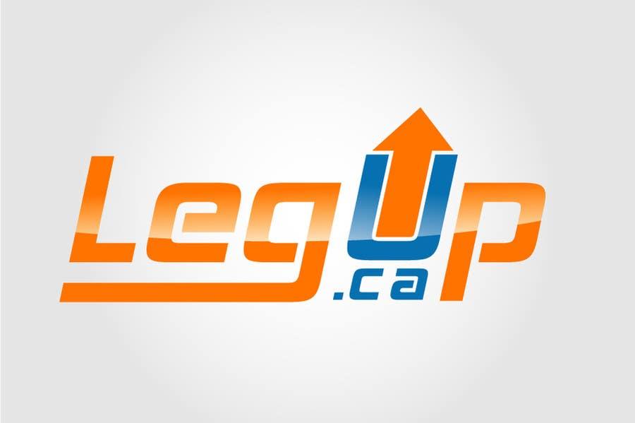 "#26 for Design a Logo for Crowdfunding Site ""LegUp.ca"" by creativdiz"