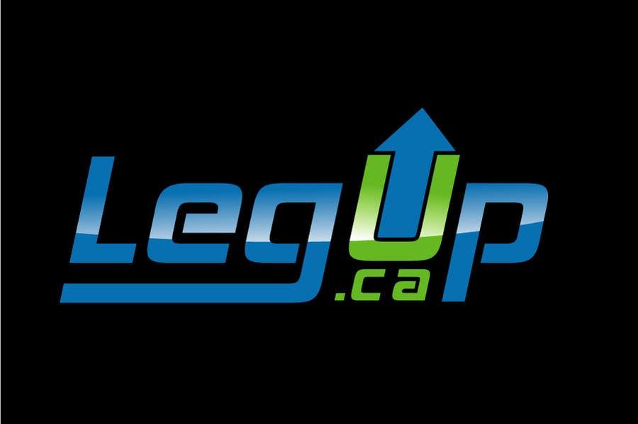 """Konkurrenceindlæg #32 for Design a Logo for Crowdfunding Site """"LegUp.ca"""""""