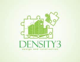 #4 para Density3 Design and Construction Logo design por fatamorgana