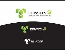#30 para Density3 Design and Construction Logo design por lanangali