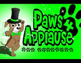 #116 para Logo Design for Paws 4 Applause Dog Grooming por rogeliobello
