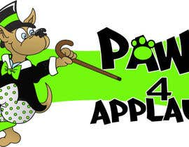 #60 para Logo Design for Paws 4 Applause Dog Grooming por Designsthatshine