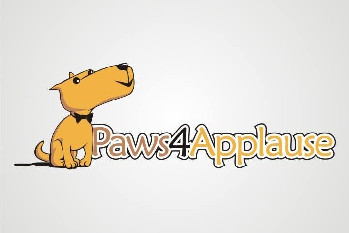 Penyertaan Peraduan #                                        2                                      untuk                                         Logo Design for Paws 4 Applause Dog Grooming