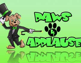 #94 para Logo Design for Paws 4 Applause Dog Grooming por shoofy20