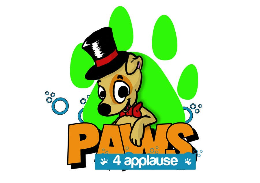 Contest Entry #50 for Logo Design for Paws 4 Applause Dog Grooming