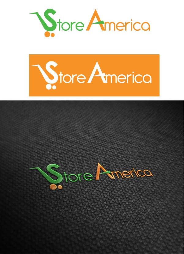 #34 for Design a Logo for store america by pixelhubdesings
