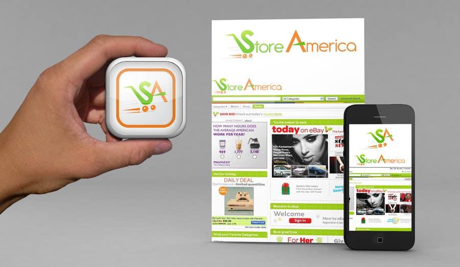 #70 for Design a Logo for store america by pixelhubdesings