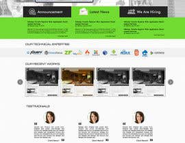 #7 para Design a Website Mockups for Company Website por poujulameen