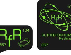 #26 cho Design a Logo for Rutherfordium Realms bởi oneb