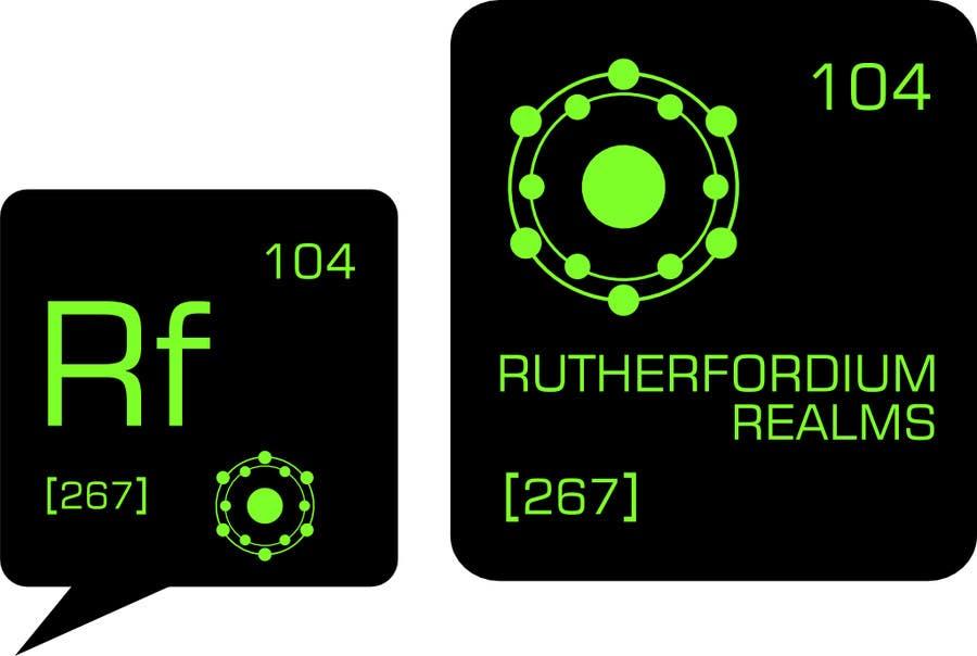 Konkurrenceindlæg #53 for Design a Logo for Rutherfordium Realms
