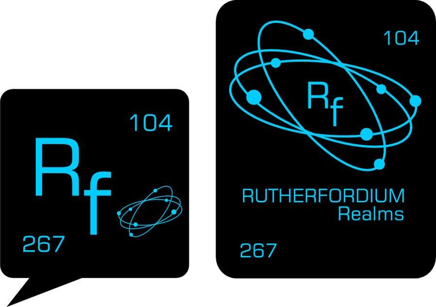Konkurrenceindlæg #54 for Design a Logo for Rutherfordium Realms