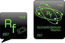 Graphic Design Konkurrenceindlæg #57 for Design a Logo for Rutherfordium Realms