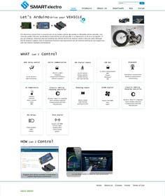 #2 for Design a Website Mockup electronics website by ivakorlevic