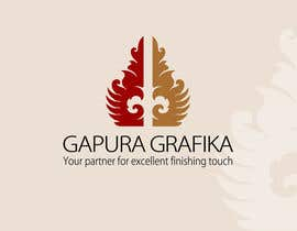 #61 untuk Logo Design for Logo For Gapura Grafika - Printing Finishing Services Company - Upgraded to $690 oleh smarttaste