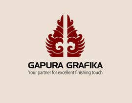 #101 para Logo Design for Logo For Gapura Grafika - Printing Finishing Services Company - Upgraded to $690 de smarttaste