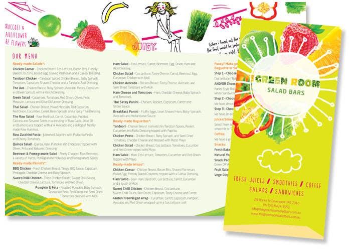 Bài tham dự cuộc thi #                                        9                                      cho                                         I need some Graphic Design for Salad bar Menu