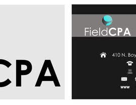 nº 28 pour Business Card Logo Design for FIELD CPA par danapopa88