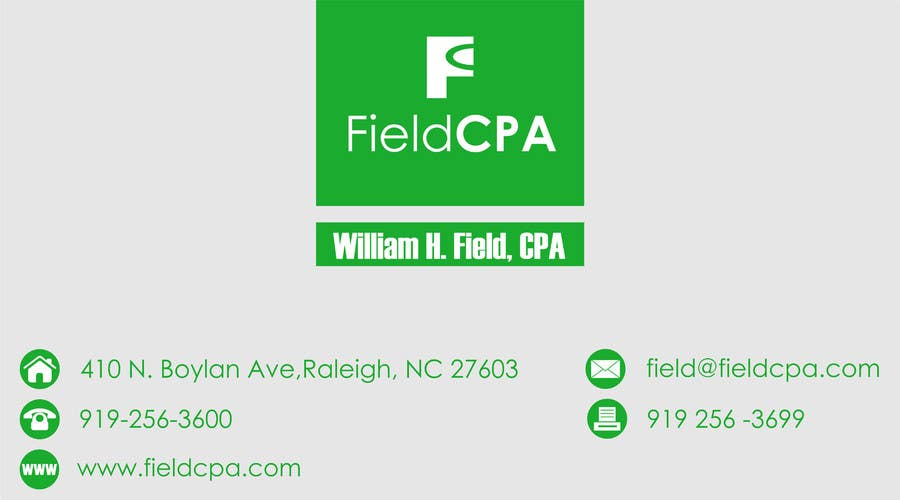 #58 for Business Card Logo Design for FIELD CPA by danapopa88