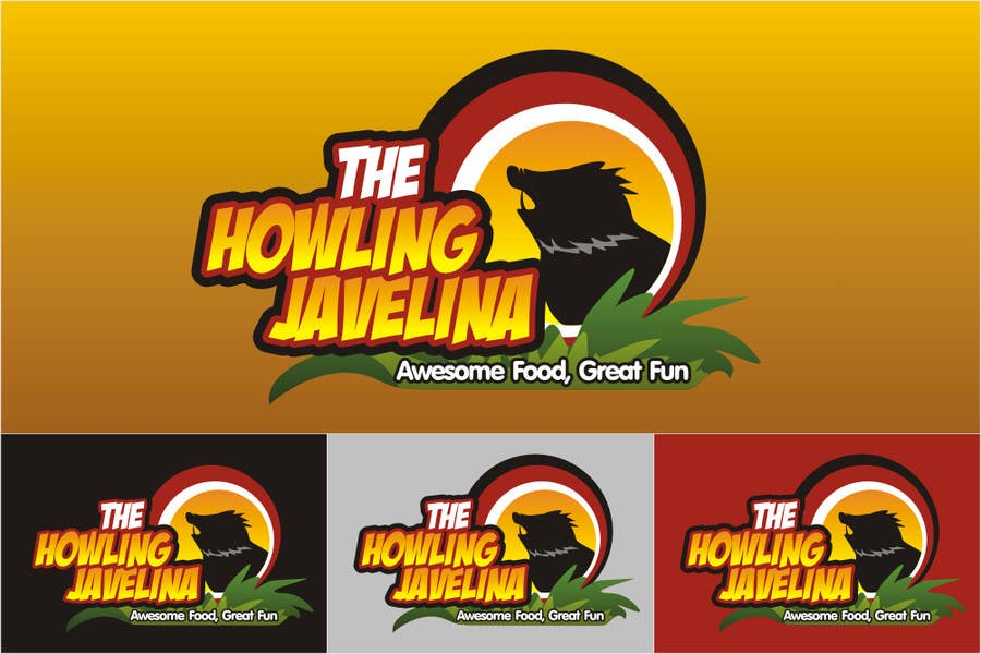 #111 for Design new logo for The Howling Javelina by ariekenola