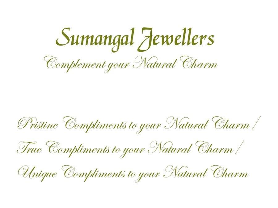 Write A Tag Line Slogan For Jewellery Freelancer