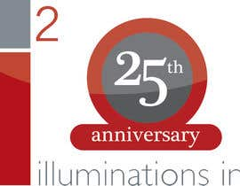 #12 for 25th Anniversary Logo af luislee