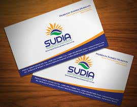 nº 23 pour Business Card Design for SUDIA (Aka Sudanese Development Initiative) par StrujacAlexandru
