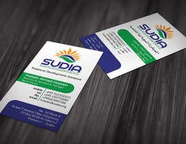 nº 51 pour Business Card Design for SUDIA (Aka Sudanese Development Initiative) par mmaged23
