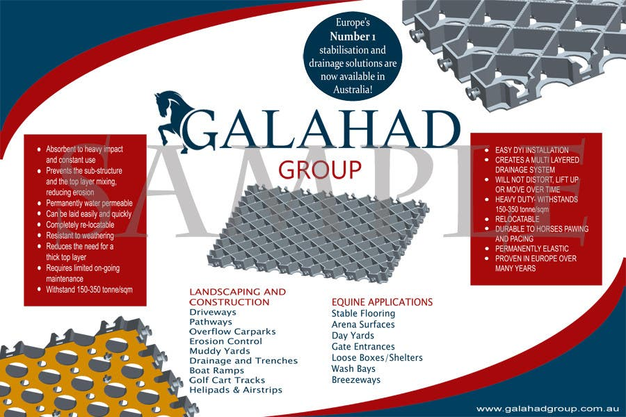 Konkurrenceindlæg #2 for Graphic Design for Galahad Group Pty Ltd