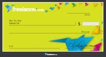 Design a novelty check for Freelancer.com için Graphic Design5 No.lu Yarışma Girdisi
