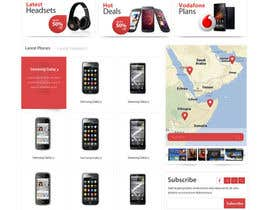 SadunKodagoda tarafından Design a strongly branded Mobile Phone Content Website için no 88