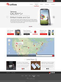 #46 for Design a strongly branded Mobile Phone Content Website by elshahat