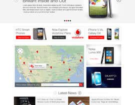 #61 para Design a strongly branded Mobile Phone Content Website por elshahat
