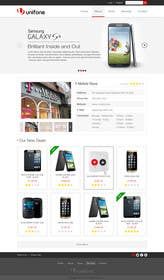 #82 for Design a strongly branded Mobile Phone Content Website by elshahat