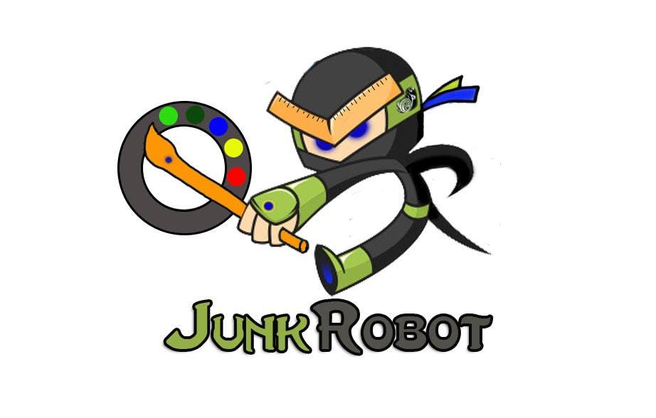 #28 for Design a Logo for JunkRobot by djtriptronick