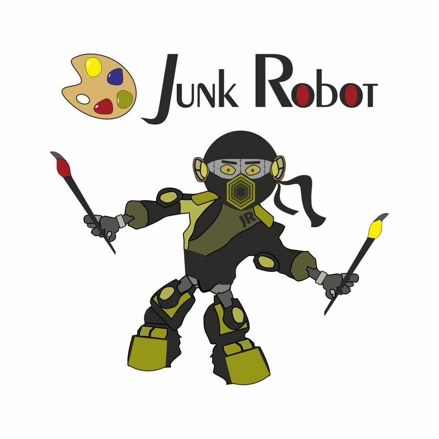 #14 for Design a Logo for JunkRobot by seppevb