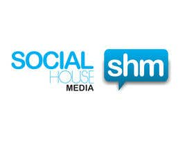 #444 para Logo Design for Social House Media por abhishekbandhu