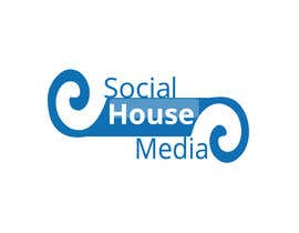 #456 para Logo Design for Social House Media por Florin349