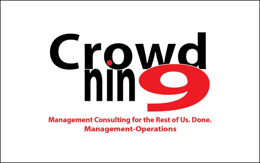 Inscrição nº                                         213                                      do Concurso para                                         Logo Design for CrowdNin9