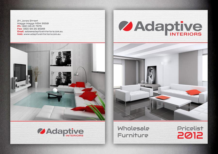 #24 for Design a Pricelist for Furniture by nad300882