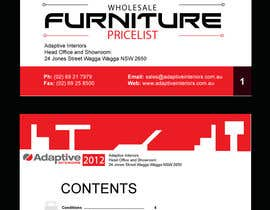 #3 para Design a Pricelist for Furniture por YogNel