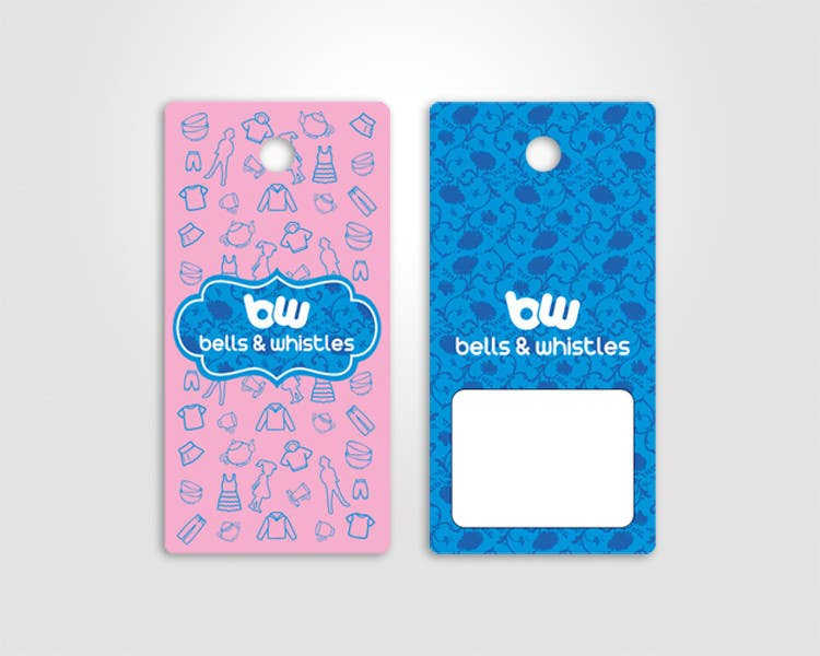 entry 12 by sami24x7 for design a hang tag for a kids apparel brand