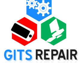 #25 para Design a Logo for GITS Repair por kyokusanagy